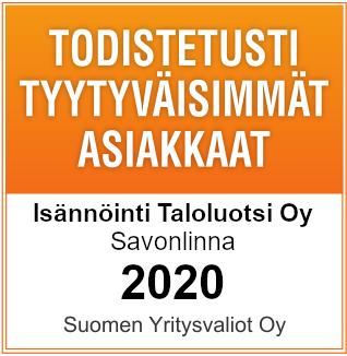 Todistetusti tyytyväisimmät asiakkaat 2020